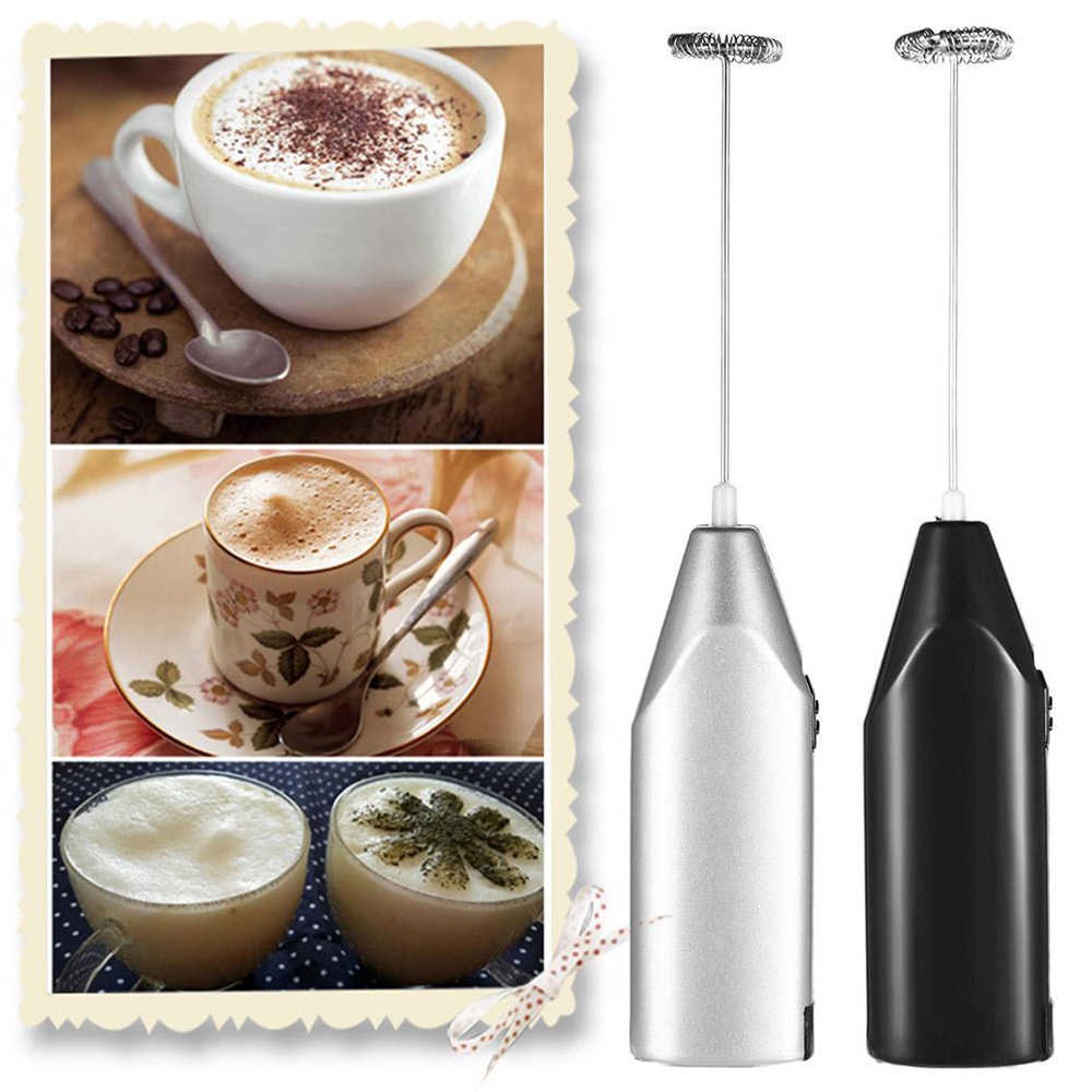 CuiGuoPing Electric Egg Stick Coffee Milk Mixer Portable Kitchen Tool