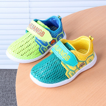 Candy Color Summer spring Breathable Mesh Children Shoes Single Net Cloth Kids Sports Shoes Casual Boys Shoes Girls Sneakers