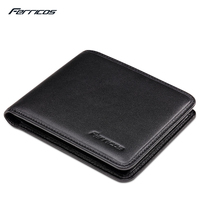 Frricos Black New Sale Vintage Men Vertical Style Cow Leather Men Purse Men Designer Carteras Money