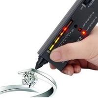 Diamant Edelsteine Tester Stift Tragbare Edelstein Selector Tool LED Anzeige Genaue Zuverlässige Schmuck Test Werkzeug-in Härteprüfer aus Werkzeug bei