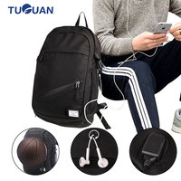 Quality Canvas Men Women Multifunction Fitness Gym Bag Sport Basketball Backpack With Net Outdoor Camp Chargeable Laptop Bag
