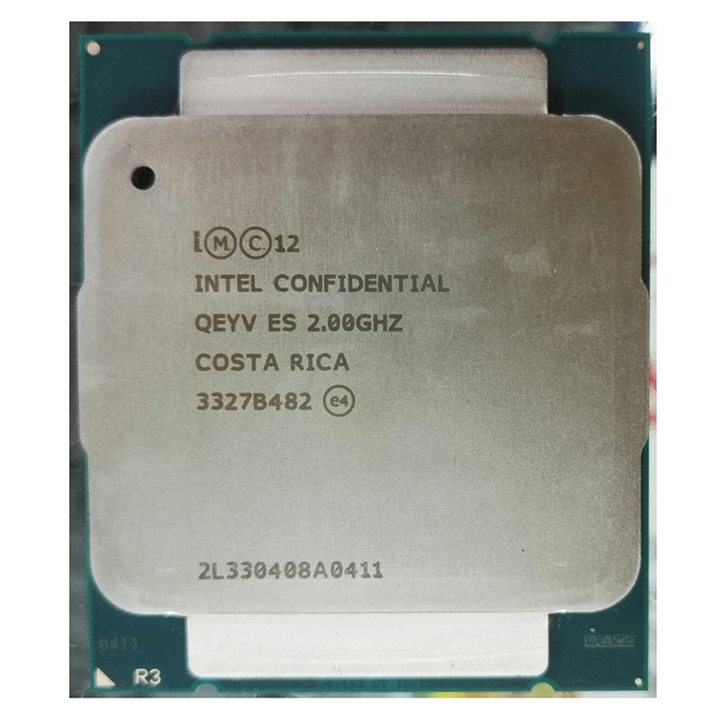 INTEL XEON E5-2609 V3 E5 2609V3 XEON E5 2609 V3 QEYV ES SIX CORE 2.0 dose not display modle Engineering Sample of E5-2609 V3