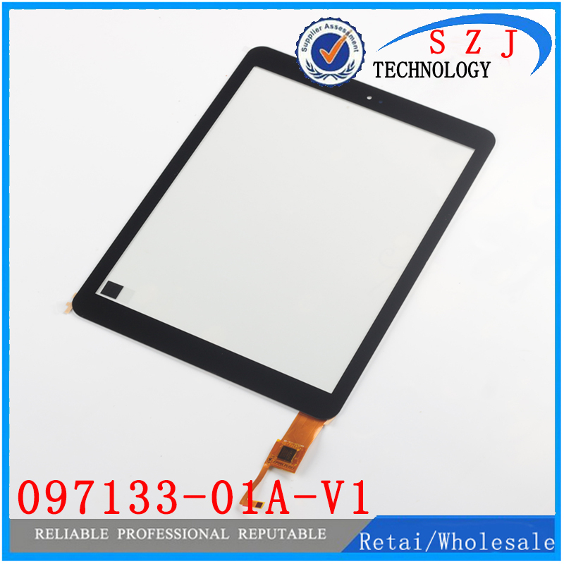New 9.7'' inch case 097133-01A-V1 For Cube U65GT talk9X Touch screen panel Digitizer Glass Sensor touchscreen Free shipping a new mglctp 90894 9 6for cube u63 gt u63 cube u63gt touch screen digitizer glass touch panel 224x158mm