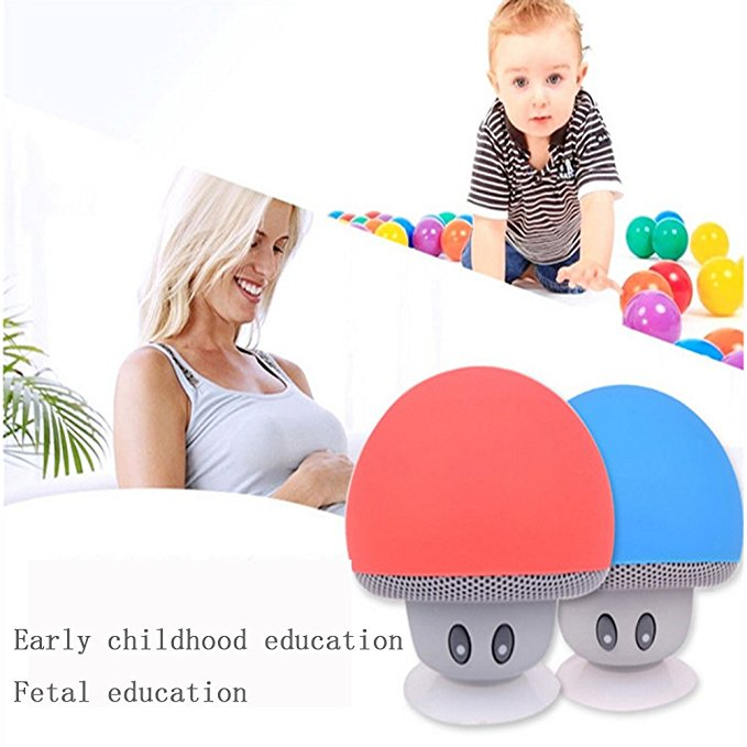 New-Mini-Speaker-Bluetooth-Mushroom-Shape-Loudspeaker-Super-Bass-Stereo-Subwoofer-Music-Player-For-iPhone-Andriod