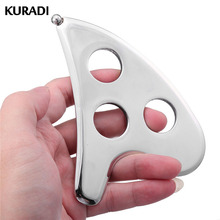 304 Stainless IASTM Steel GuaSha Board Massager Electrode Scraper Physical Therapy Loose Muscle Meridian Massage SPA Body Health