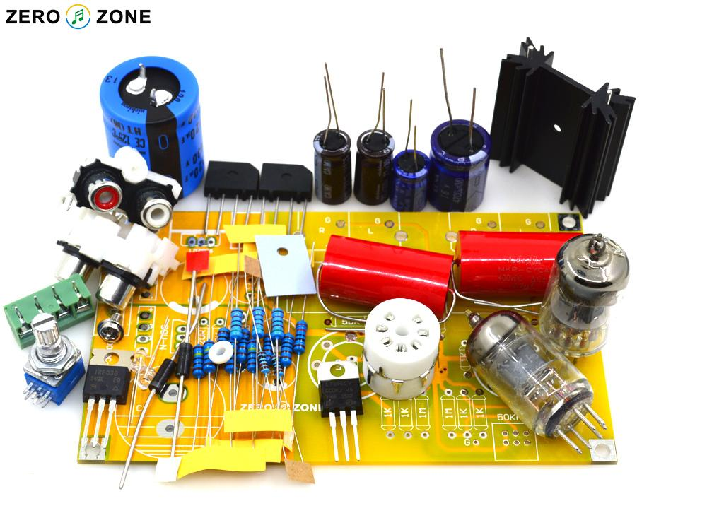 US $16 0 |GZLOZONE DIY Hifi PRT 01A 6J1 Tube Preamp Kit / Stereo Vacuum  Tubes Preamplifier-in Amplifier from Consumer Electronics on Aliexpress com  |