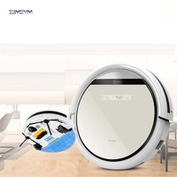 V5 Dry And Wet Robot Cleaner 0 3L With Vacuum Cleaner With Water Tank Sensor Remote