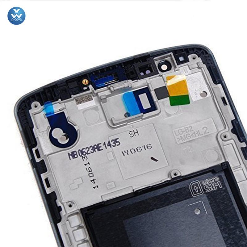 for LG G3 D850 D851 D855 VS985 LS990 (LG G3 LCD with frame black)-1