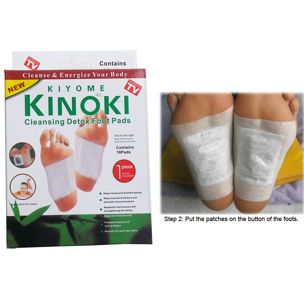 Kinoki Detox Foot Pads Patches Relaxation Massage Relief ...