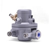 3/8 inch BSPT 10L / Min aluminum alloy pneumatic one way diaphragm pump one way ink solvent circulation air pump