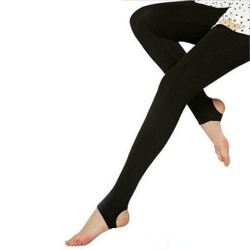 Autumn Winter Fashion Explosion Models Plus Thick Velvet Warm Seamlessly High Waist Warm Black Leggins Punk Push Up Leggings