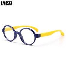 Lyczz 2019 Bulat Permen Warna Lucu Kacamata Bingkai Anak Laki-laki Cewek  Bening Kacamata Anak Vintage Tontonan Rentang Optik Kac. 88a3021730