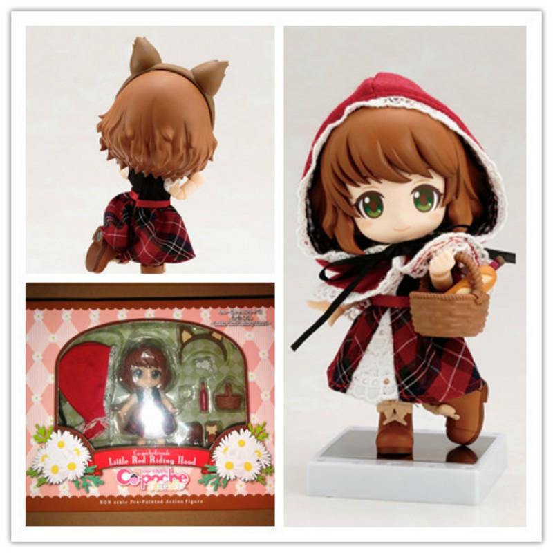 Anime Figure Little red riding hood Little Red Q version 10CM Nendoroid PVC Action Figures Model Collectible Toys giftAnime Figure Little red riding hood Little Red Q version 10CM Nendoroid PVC Action Figures Model Collectible Toys gift