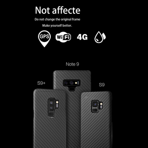 Image 2 - Full Protection Aramid Fiber Case for Samsung Galaxy note 8 9 Shockproof For Samsung S9 S9 Plus Case Cover Carbon Fiber Pattern