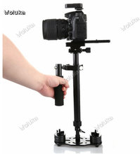 New S60 Steadycam S-60 + Plus 3.5kg 60cm Aluminum Handheld Stabilizer steady cam Glidecam filmmaking DSLR CameraCD50 T03 X(China)