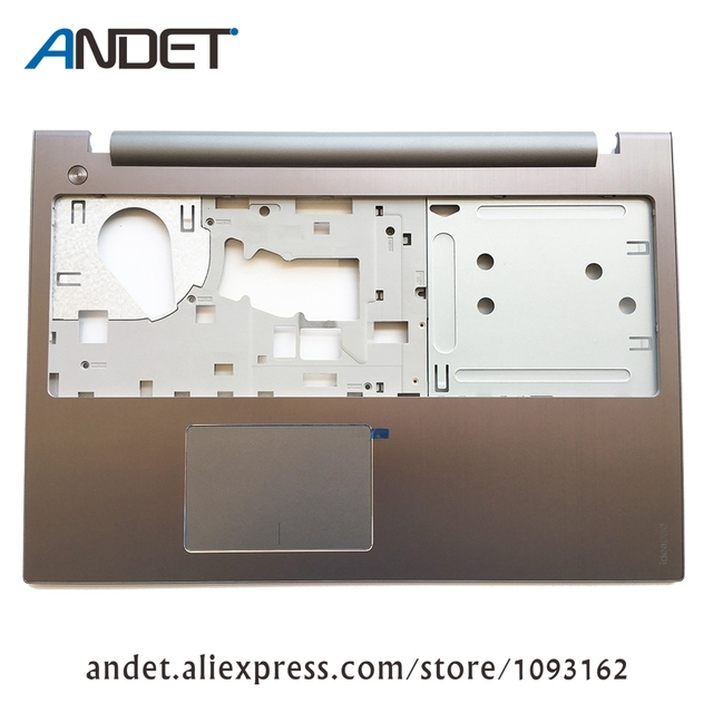 US $27 0  New Original for Lenovo IdeaPad Z500 P500 Palmrest Keyboard Bezel  Upper Case Cover with Touchpad AM0SY000310-in Laptop Bags & Cases from