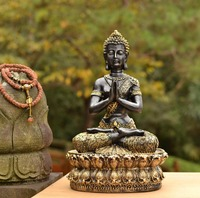 Southeast Asia style Paul peace Buddha Decoration resin crafts moved home modern furnishings