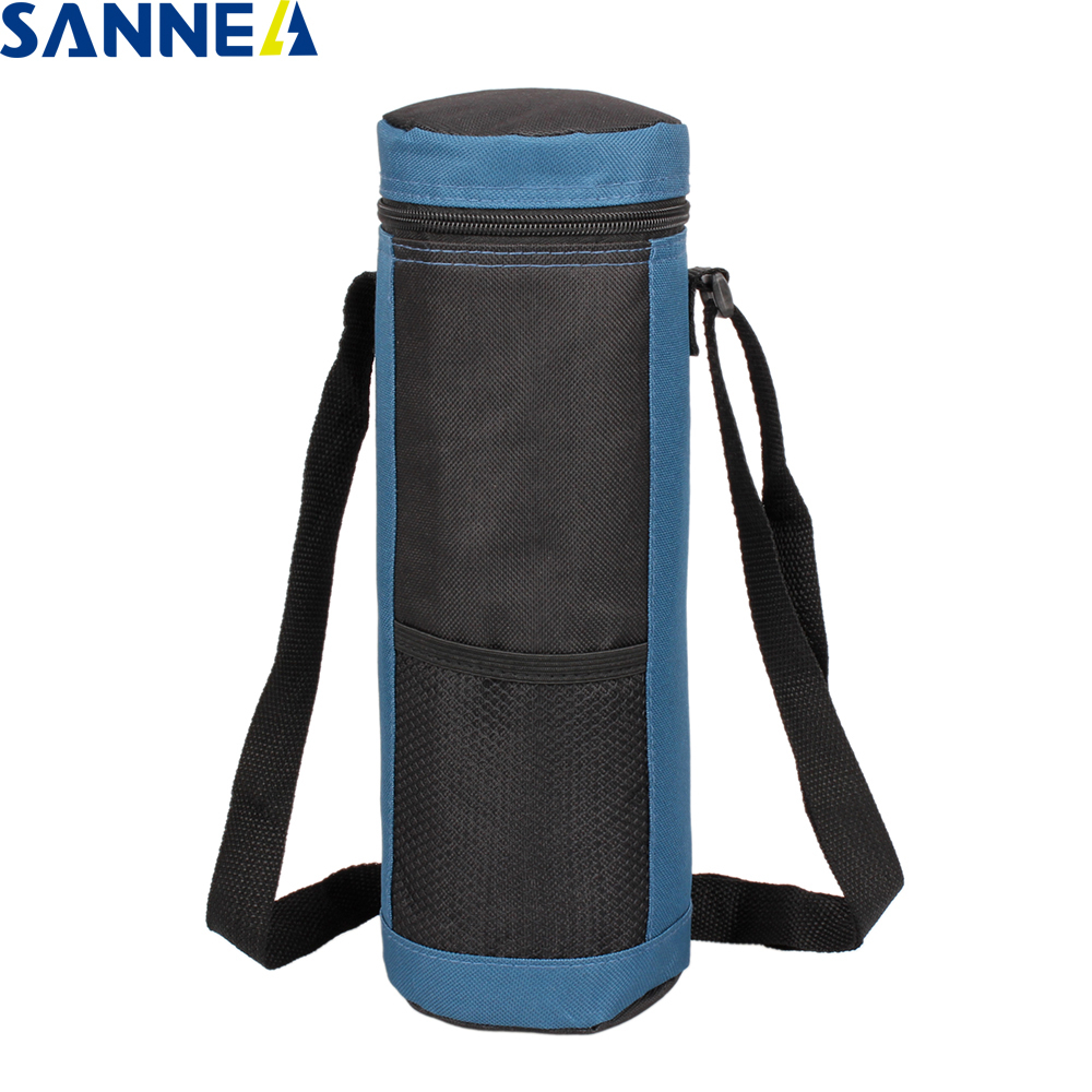 SANNE 2L Coke Bottle Ice Pack Keeping Fresh Insulated Bottle Bag Polyester Cooler Bag Waterproof Thermal Ice Lunch Bag For Kids
