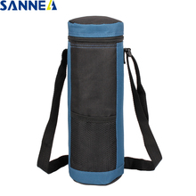SANNE 2L Coke Bottle Polyester Cooler Bag Waterproof Thermal Ice Lunch for Kids Pack Keeping Fresh Insulated