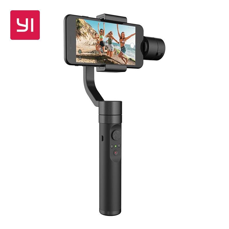 YI смартфон Gimbal Smart трек Ultra View Пан 360 градусов 3 оси управляемой BLE 4,0 стабилизатор Gimbal ручной