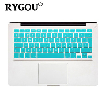 EU Layout English Keyboard Cover Silicone Skin for MacBook Pro 13″ 15″ 17″ (with or w/out Retina Display) and MacBook Air 13″