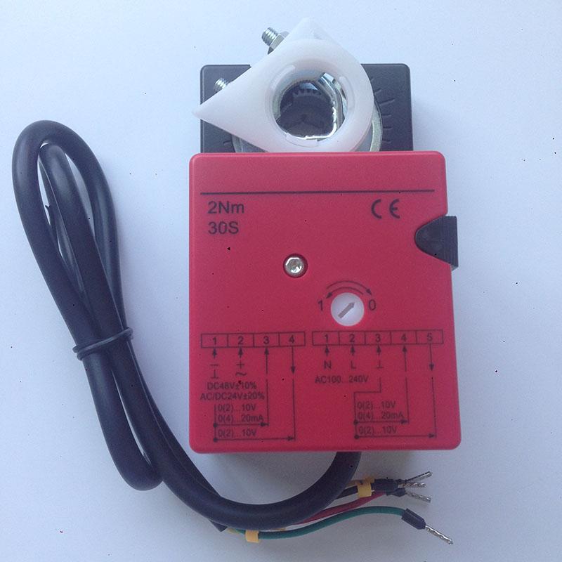 Allgemeine klappenantrieb 2Nm modulation für den betrieb von air ...