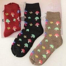 Winter socks color thick wool socks warm terry socks