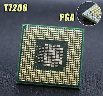 Original for intel planform CPU laptop Core 2 Duo T7200 4M Socket 479 Cache/2.0GHz/667/Dual-Core Laptop processor support 945!