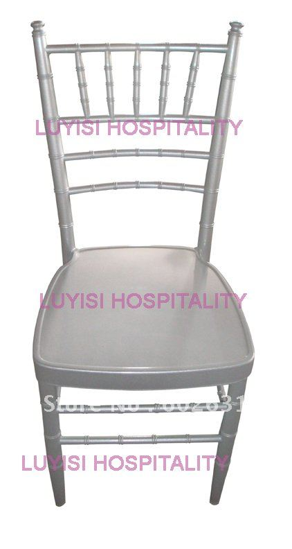 Hot Selling Stronge Silver Aluminum Chiavari Chair For Hotel Restaurant Wedding