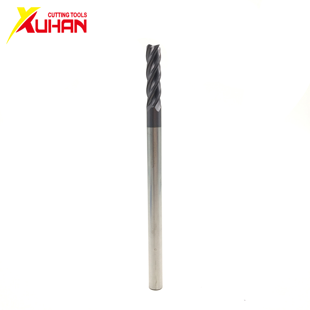 4Flute Φ3.0*75L  100L HRC50 CNC Machine Tool Solid Carbide Endmill Tungsten Steel Milling Cutter End Mill Cuttering Tool Endmill