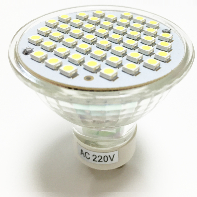 NIEUWE LED Spotlight GU10 lamp 3 W AC 220 V 110 V hittebestendig ...