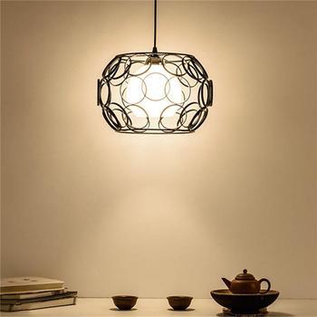 1pcs LED ceiling chandelier industrial ceiling lamp vintage chandelier bar restaurant lights nordic dining room lights