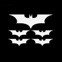 5Pcs White,Black Car Bat Cartoon Vinyl Body Tailgate Decal Motorcycle Sticker OCT-9