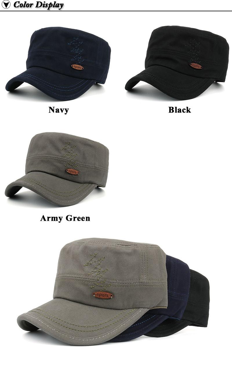 Adjustable Milicap - Navy Cap, Black Cap and Army Green Cap Options