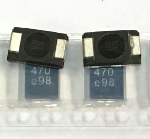 SMD танталовые полимерные конденсаторы 2R5TPE470M9 2,5 V 470 мкФ 50 шт polymer fiber capacitor ledpolymer li ion batteries   АлиЭкспресс