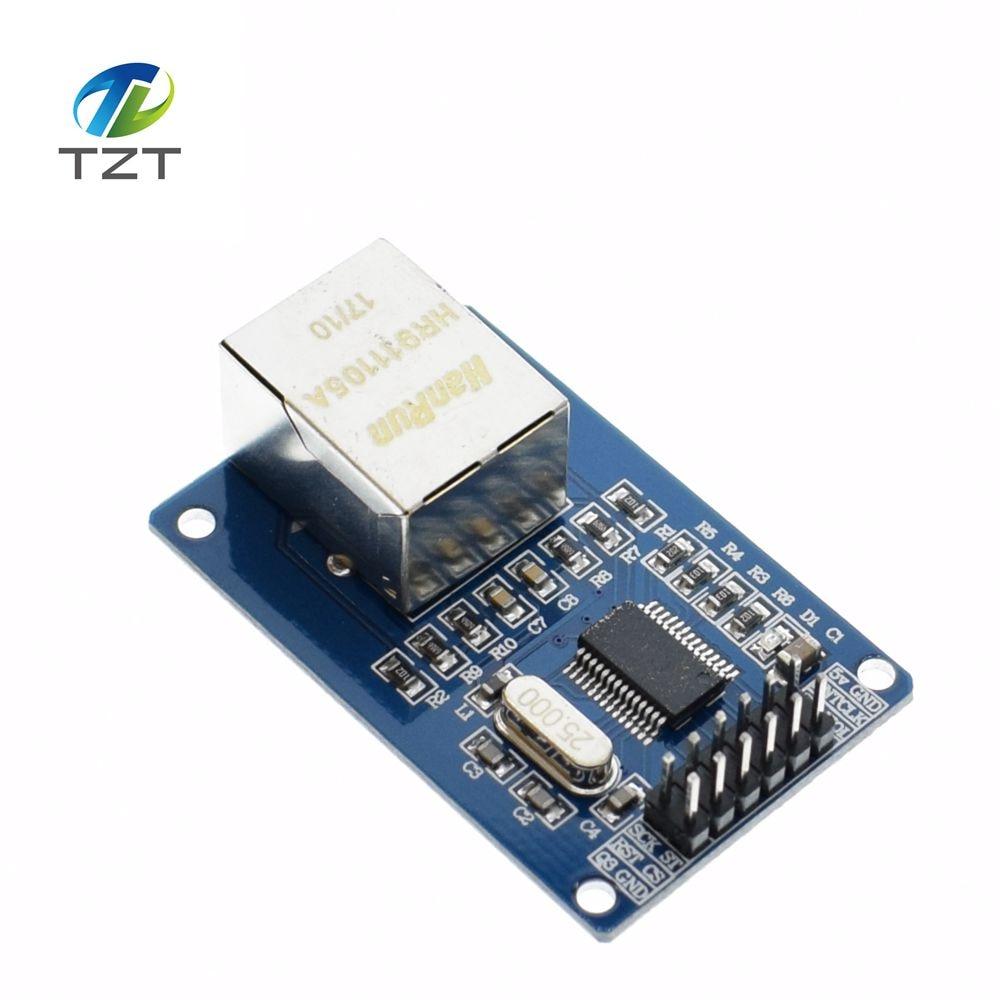 100% Quality 5 Pcs/lot Enc28j60 Lan Ethernet Network Board Module 25mhz Crystal Avr 51 Lpc Stm32 3.3v Rich In Poetic And Pictorial Splendor