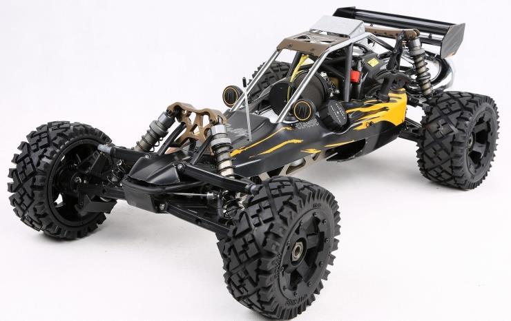 1/5 rc voiture course Rovan puissant 2 t 32cc essence Engin 2.4G télécommande Rovan BAJA 5B