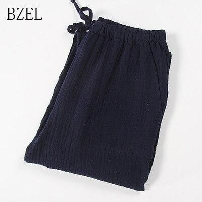 BZEL Solid Men's Sleep Bottoms Pajama Pants Men Underwear Piyamas Trousers Cotton Mens Lounge Pants Comfortable Sleepwear Nighty