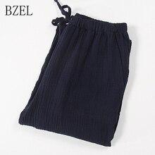 BZEL Solid Men's Sleep Bottoms Pajama Pants Men