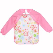 Long sleeve baby bib  – different colors and prints
