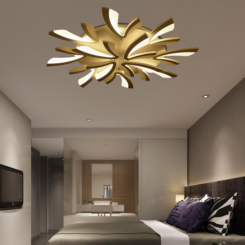 Moderno acrilico forgiato creativo Luci di Soffitto del LED 220 v della novità Lampada a soffitto per la camera da letto soggiorno ristorante corridoio bar dell'hotel