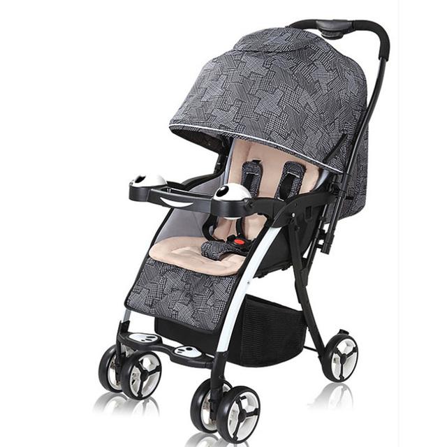 Venta caliente Bebé Carro Ligero y Portátil Plegable Paraguas de Los Niños Cesta de la Alta Calidad Del Cochecito de Bebé 4 Colores