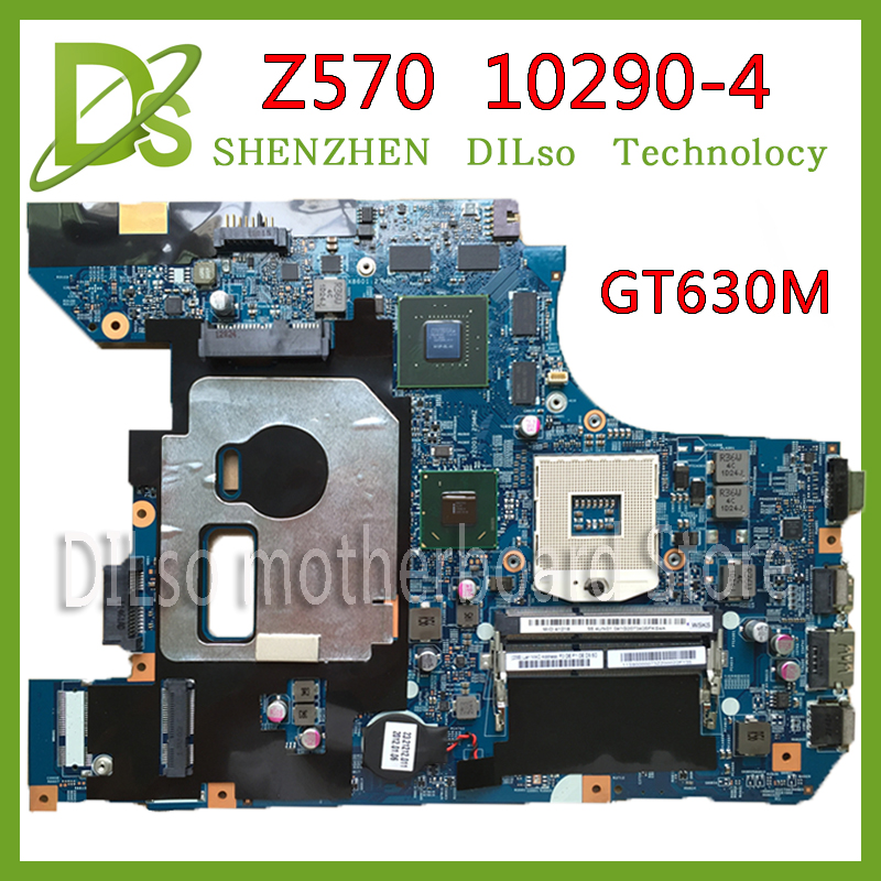 KEFU 10290-4 48.4PA01.041 LZ57 MB original motherboard for Lenovo Z570 Laptop motherboard Z570 motherboard GT630M 100% tested original laptop motherboard for da0zhrmb6c0 100