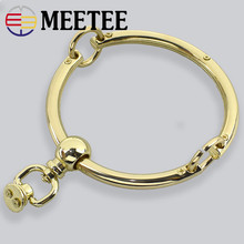 2PCS High-grade Alloy Handles Buckle 95mm  Round metal handle bag accessories luggage hardware AP2348