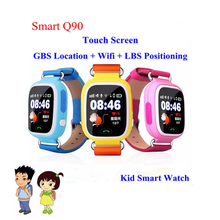 Smart baby uhr gps-verfolger für kinder 1,22 Touchscreen Smartwatch Anti verloren Mit SOS baby geschenk Q90 pk Q80 Q60 Q50 Kis uhr