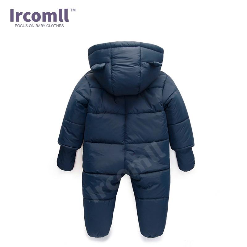 Lrcoml Keep Thick Warm Infant Baby Rompecabezas Ropa de invierno - Ropa de bebé - foto 3