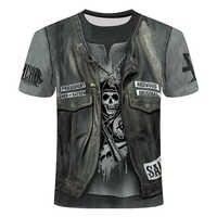 2019 novo design t camisa masculina/feminina heavy metal grim reaper crânio 3d impresso t-shirts casuais harajuku estilo tshirt streetwear para