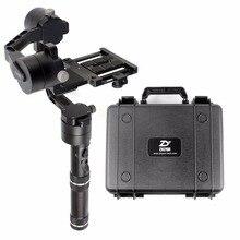 Zhiyun кран 3 оси Ручной Стабилизатор 3-axi Gimbal для DSLR камер Canon Поддержка 1.8 кг