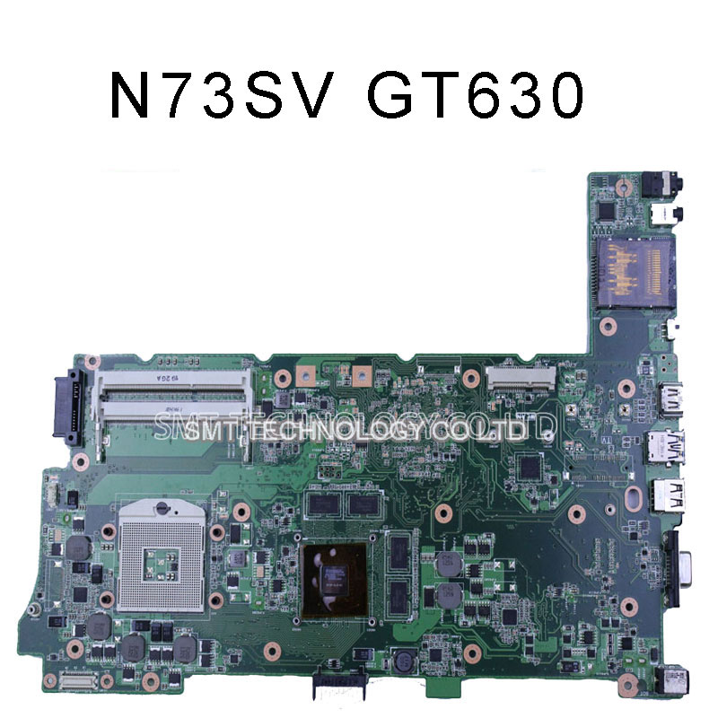 N73SV REV 2.0 N73SM Laptop motherboard for ASUS 3 RAM SLOT GT630M 2g free shipping