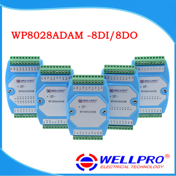 Digital input output module, isolated 8DI/8DO MODBUS communication, -WP8028ADAM - discount item  7% OFF Home Appliance Parts